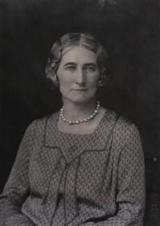 Rachel Cecily (née Douglas-Scott-Montagu), Lady Forster, by Walter Stoneman, 1930 - NPG x167613 - © National Portrait Gallery, London