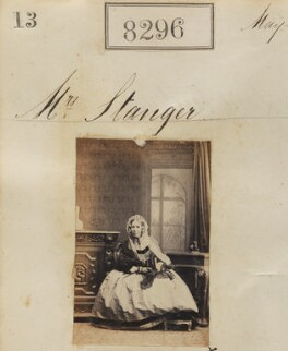Mrs Stanger, by Camille Silvy - NPG Ax58115