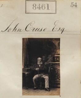 John Cruso, by Camille Silvy - NPG Ax58283