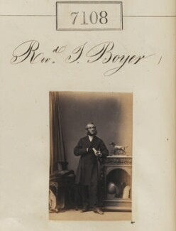 John Boyer, by Camille Silvy - NPG Ax57024
