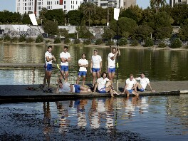 Men's Rowing Eight, by Anderson & Low - NPG P1804