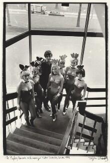 Victor Aubrey Lownes, by Jurgen Schadeberg, 1968 - NPG x136284 - © Jurgen Schadeberg / National Portrait Gallery, London