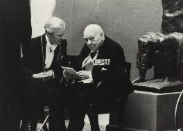 Sir Charles Thomas Wheeler; Winston Churchill, by Neil Libbert - NPG x136287