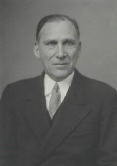 Sir Edward Robinson, by Walter Stoneman - NPG x169418