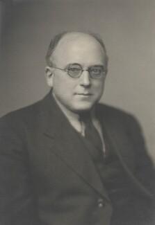 Sir (Bennett) Melvill Jones, by Walter Stoneman - NPG x169433