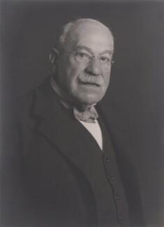 Sir Leonard Franklin, by Walter Stoneman - NPG x167648