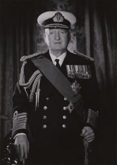 Bruce Austin Fraser, 1st Baron Fraser of North Cape, by Walter Bird, October 1959 - NPG x167652 - © National Portrait Gallery, London