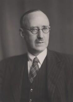 Sir (William) Robert Fraser, by Walter Stoneman, April 1945 - NPG x167666 - © National Portrait Gallery, London