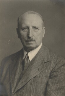 Sir Edmund Ivens Spriggs, by Walter Stoneman - NPG x169442