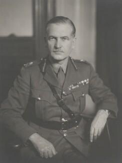 Sir Henry Royds Pownall, by Walter Stoneman - NPG x169447