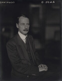 Edward William Spencer Cavendish, 10th Duke of Devonshire, by Walter Stoneman - NPG x169448