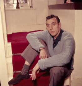 Eric Sykes, by Bob Collins, 1959 - NPG x136313 - © estate of Bob Collins / National Portrait Gallery, London