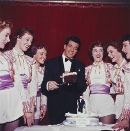 Frankie Vaughan's 30th Birthday at the Palace Theatre, by Bob Collins - NPG x136319