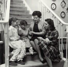 Judy Garland; Liza Minnelli; Lorna Luft and Joey Luft, by Bob Collins - NPG x136330