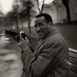 Ray Ellington, by Bob Collins, 1963 - NPG x136337 - © estate of Bob Collins / National Portrait Gallery, London