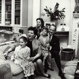Judy Garland; Sidney Luft; Liza Minnelli; Lorna Luft and Joey Luft, by Bob Collins - NPG x136339