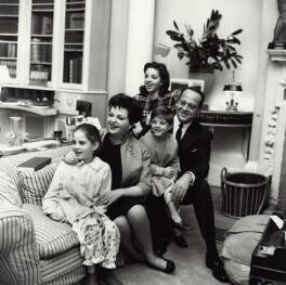 Judy Garland; Sidney Luft; Liza Minnelli; Lorna Luft and Joey Luft, by Bob Collins - NPG x136340