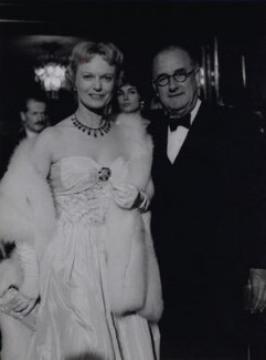 Anna Neagle; Herbert Wilcox, by Bob Collins - NPG x136346