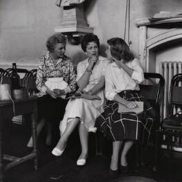 Margaret Lockwood; Julia Lockwood; Katie Boyle (Caterina Irene Elena Maria Imperiali di Francavilla), by Bob Collins - NPG x136355