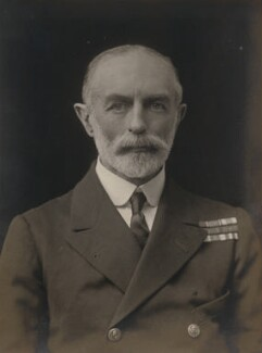 Sir Sydney Robert Fremantle, by Walter Stoneman, 1918 - NPG x167680 - © National Portrait Gallery, London