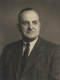Sir George Herbert Fretwell, by Walter Stoneman - NPG x167685