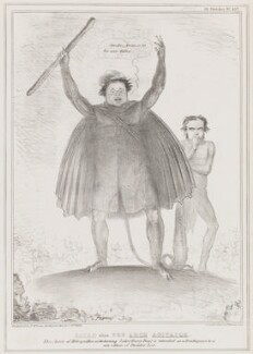 Satan alias the Arch Agitator (Daniel O'Connell; Richard Lalor Sheil), by John ('HB') Doyle, printed by  Alfred Ducôte, published by  Thomas McLean - NPG D41391
