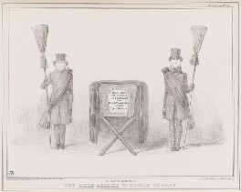 A new instance of the mute-ability of human affairs, by John ('HB') Doyle, printed by  Alfred Ducôte, published by  Thomas McLean - NPG D41401