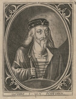 James I of Scotland, after Unknown artist - NPG D42369