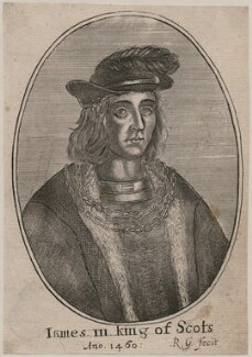 James III of Scotland, by Richard Gaywood, circa 1655, published 1681 - NPG D42376 - © National Portrait Gallery, London