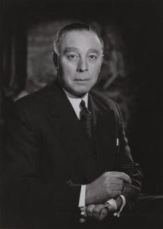 Sir Leslie Alfred Charles Fry, by Walter Stoneman - NPG x167696