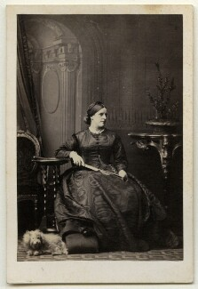 Margaret (née Wilson), Lady Russell, by Camille Silvy - NPG x136358