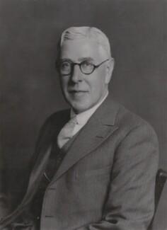 Sir William Hamilton Fyfe, by Walter Stoneman, June 1938 - NPG x167710 - © National Portrait Gallery, London