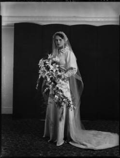 Princess Dilys Schonburg-Hartenstein (née Marten), by Bassano Ltd - NPG x158260