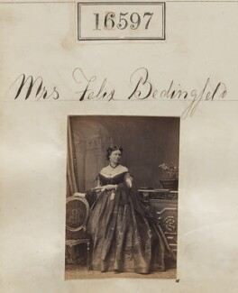 Mary Woodward Bedingfeld (née Chads), by Camille Silvy - NPG Ax64503