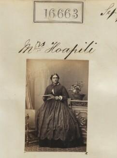 Mary Ann Kiliwehi Hoapili, by Camille Silvy - NPG Ax64563
