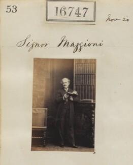 Manfredo Maggioni, by Camille Silvy - NPG Ax64637