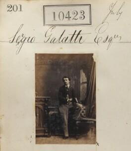 Sergio Constantine Galatti, by Camille Silvy - NPG Ax60137