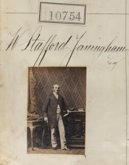 Hon. William George Stafford Jerningham, by Camille Silvy - NPG Ax60461