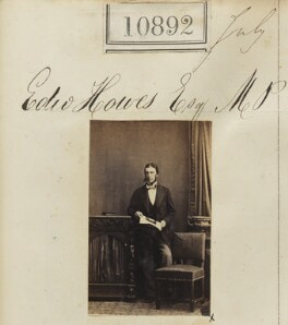 Edward Howes, by Camille Silvy - NPG Ax60598