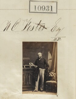 William Orme Foster, by Camille Silvy - NPG Ax60637