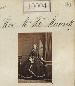 Juliana Constable-Maxwell (née Middleton, later Constable-Maxwell-Stuart), by Camille Silvy - NPG Ax59718