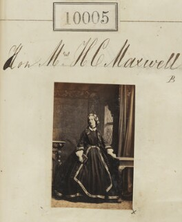 Juliana Constable-Maxwell (née Middleton, later Constable-Maxwell-Stuart), by Camille Silvy - NPG Ax59719