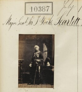 Sir James Yorke Scarlett, by Camille Silvy - NPG Ax60101