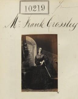 Martha Eliza (née Brinton), Lady Crossley, by Camille Silvy - NPG Ax59934