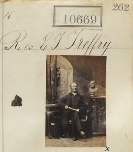 Edward John Treffry (né Wilcocks), by Camille Silvy - NPG Ax60380