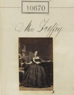 Miss Treffry, by Camille Silvy - NPG Ax60381