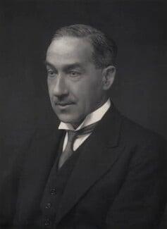 James Francis Wallace Galbraith, by Walter Stoneman - NPG x167720