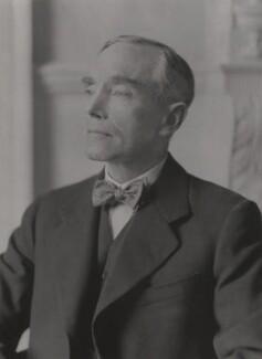 Sir Philip Woolcott Game, by Walter Stoneman - NPG x167732