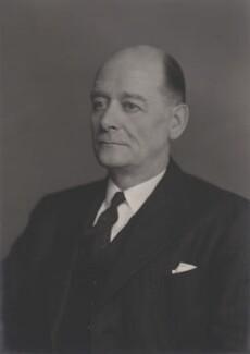 Sir Irving Blanchard Gane, by Walter Stoneman - NPG x167734