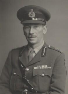 Sir Miles William Arthur Peel Graham, by Walter Stoneman - NPG x169643